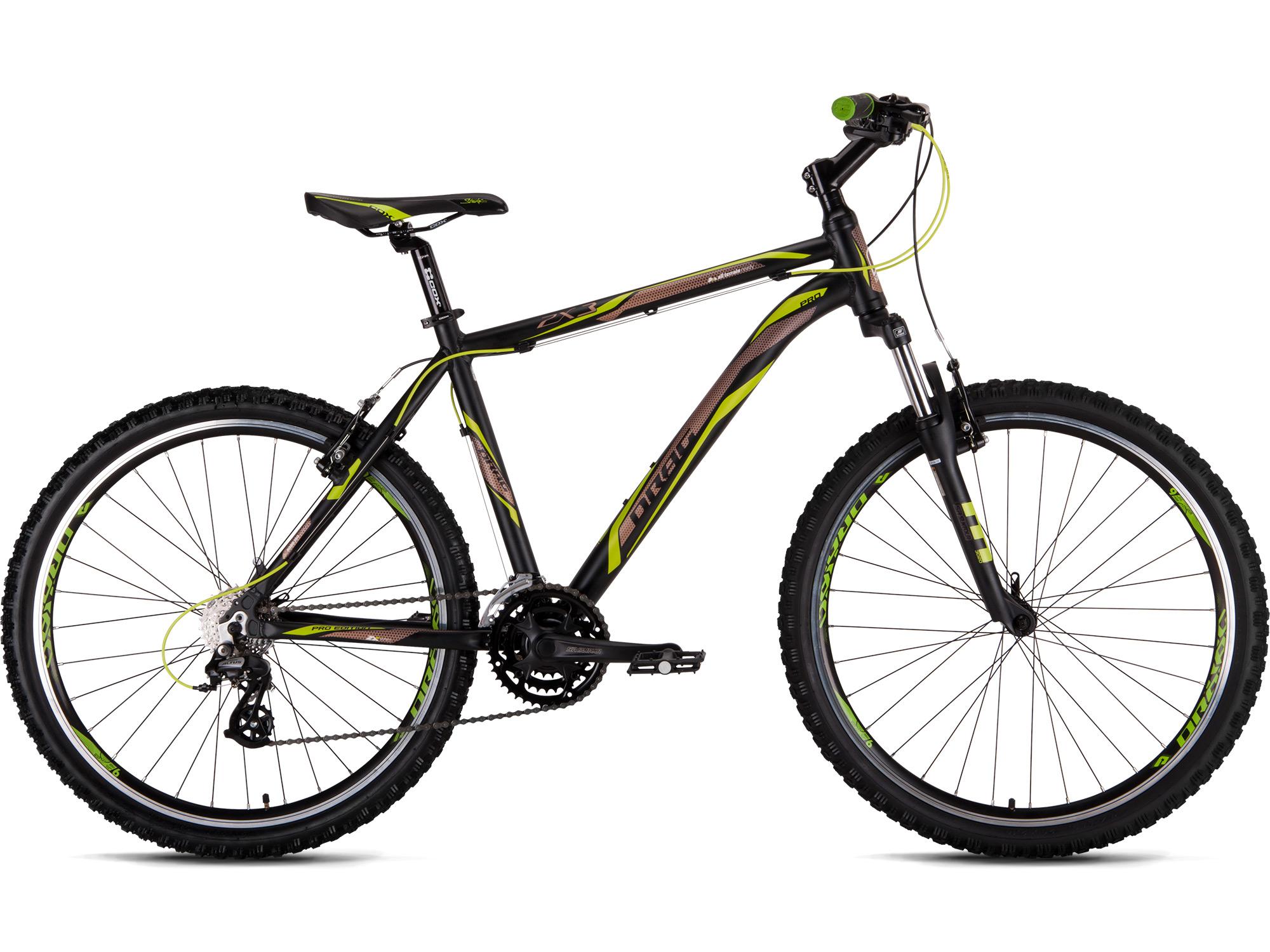 Велосипед Drag 26 ZX3 Pro XL-21.5 Черно Зеленый 2016 d590c6d3995