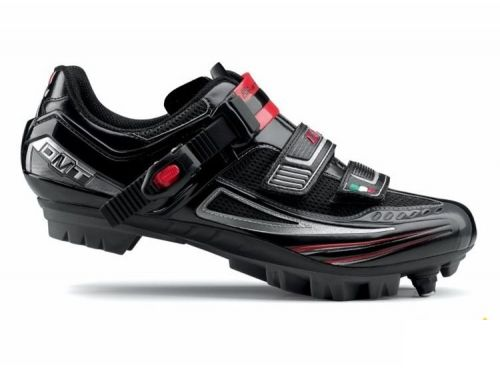 ВелоОбувь DMT KRYPTON BLACK/SILVER/RED MTB 38