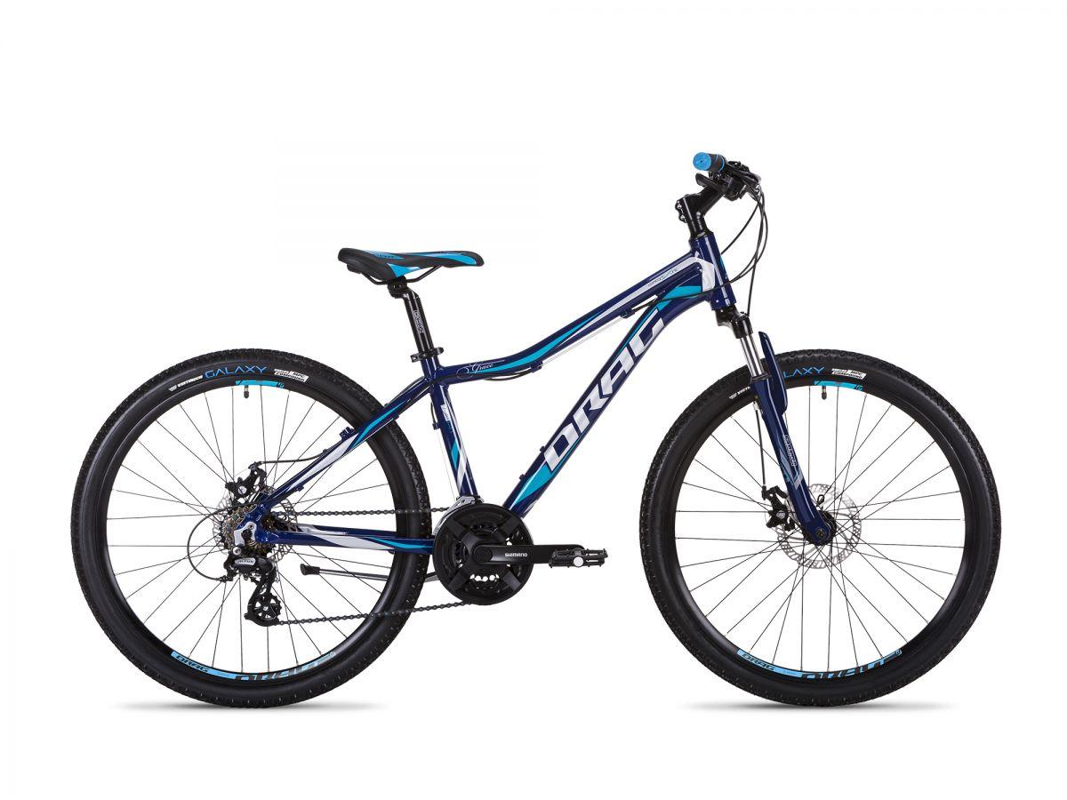 25038e72eb5 Велосипед Drag 27.5 Grace Comp TY-37 L-19 Сине/Серый 2019